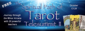 The Spiritual Path of Tarot Telesummit II Header- free