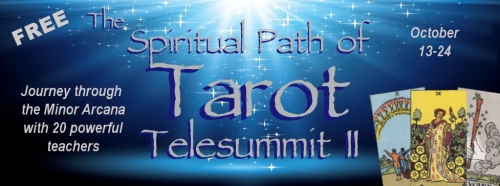 The Spiritual Path of Tarot Telesummit II Header- free
