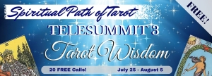Spiritual Path of Tarot Telesummit 3 banner 1